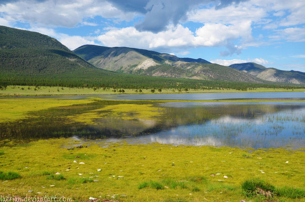 Nature of Eastern Siberia by Laerian