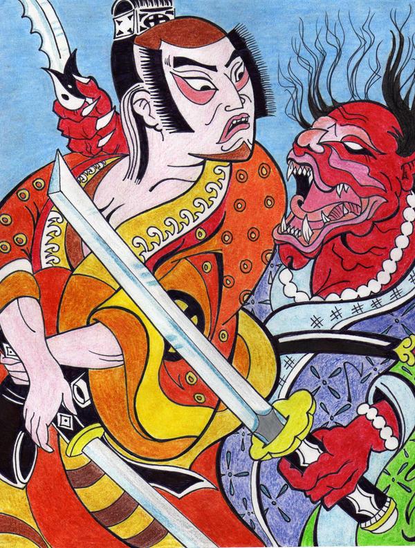 Aparador Com Gavetas Para Quarto ~ Arte Japones by OdisterOne on DeviantArt