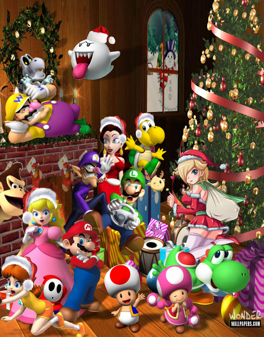 The Super Mario Christmas Party by 1KamZ on DeviantArt