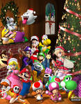 The Super Mario Christmas Party