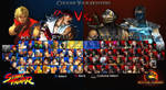 SF Vs. MK: Character Selection