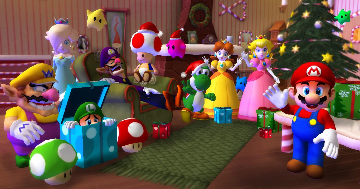 Super Mario Christmas by 1KamZ on DeviantArt