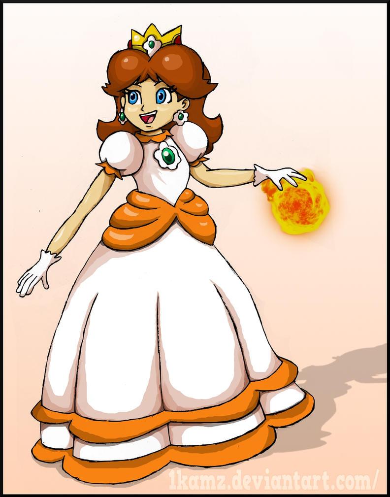 Fire Daisy 2 by 1KamZ