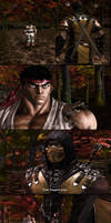 Ryu Vs. Scorpion 3