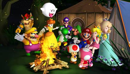 Super Mario Camping by 1KamZ