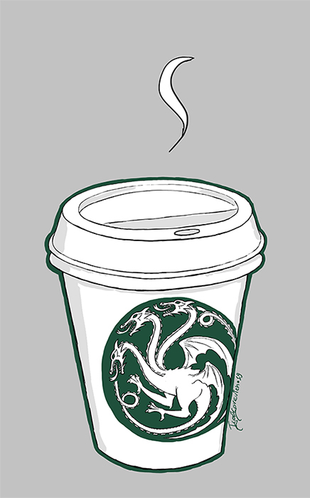 The hottiest coffee in whole Westeros by igorigorevich