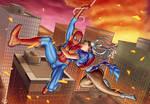 MVSC Chun-li and Spiderman