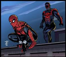 Spider-man 2099 XXX parody! by GeckUP