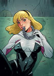 Spider-Gwen luv horses! cover