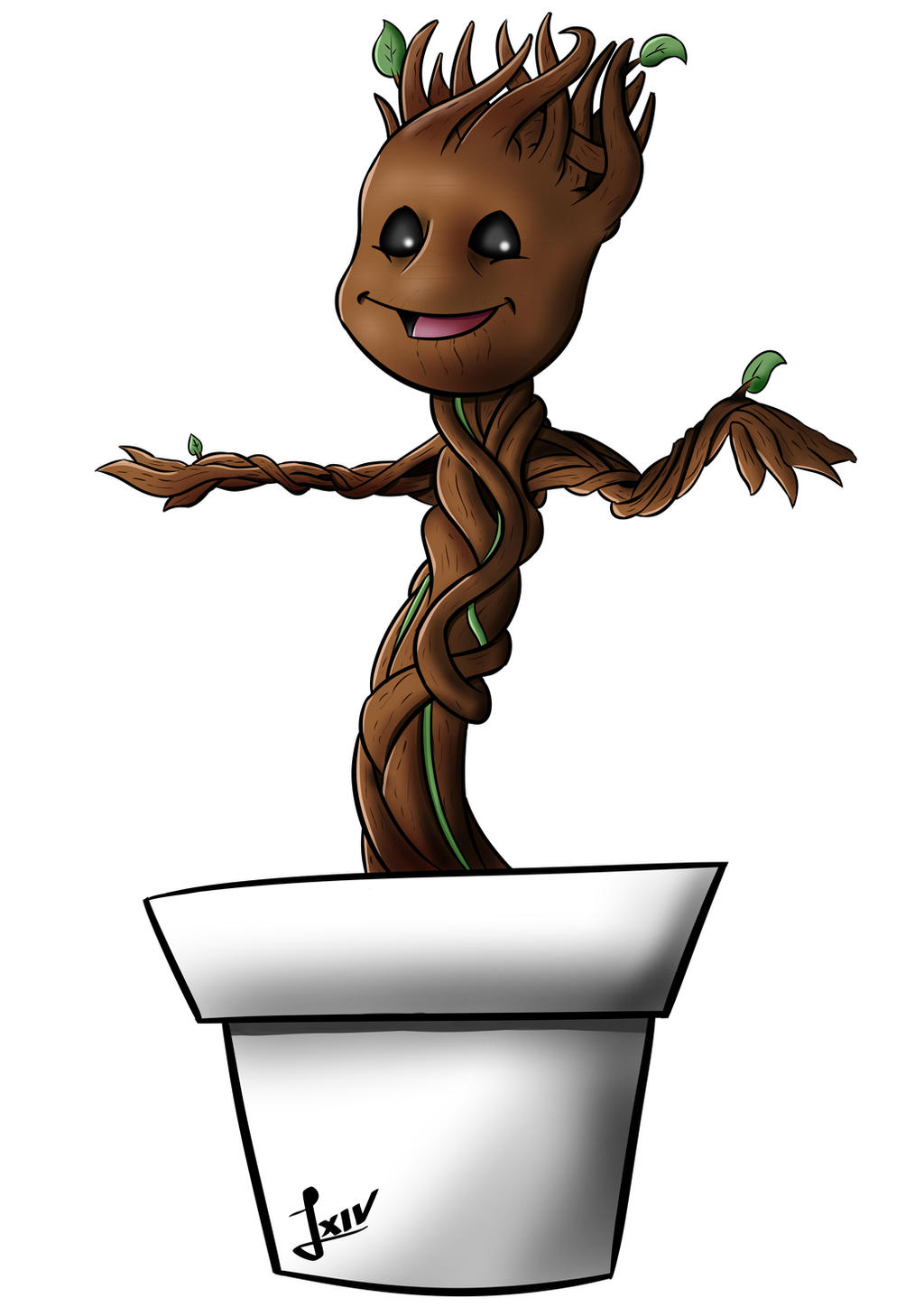 Guardians of the galaxy - Baby Groot by SRProductions on ...
