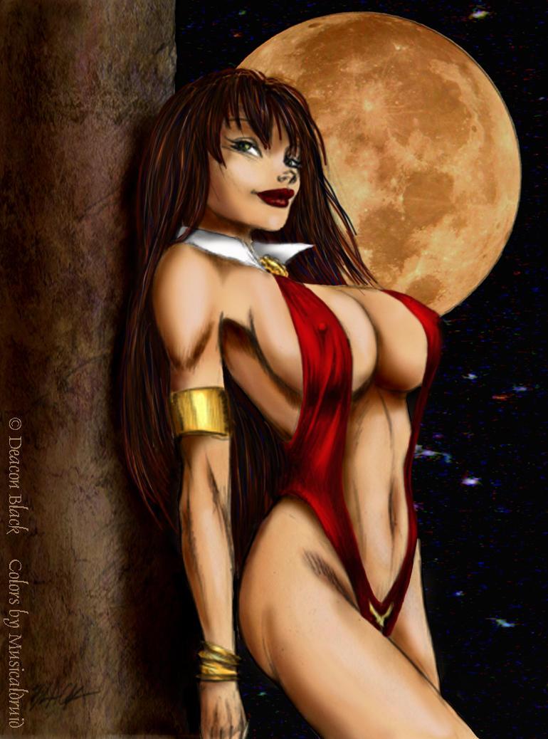 Vampirella by Deacon Black by musicaldruid
