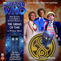 Custom The Sirens of Time Big Finish CD Cover by theDoctorWHO2