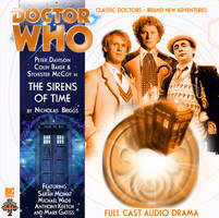 Custom The Sirens of Time Big Finish CD Cover 2 by theDoctorWHO2
