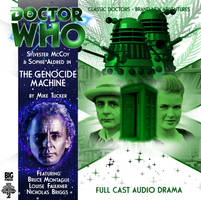 Custom The Genocide Machine Big Finish CD Cover by theDoctorWHO2