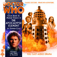 Custom The Apocalypse Element Big Finish CD Cover by theDoctorWHO2
