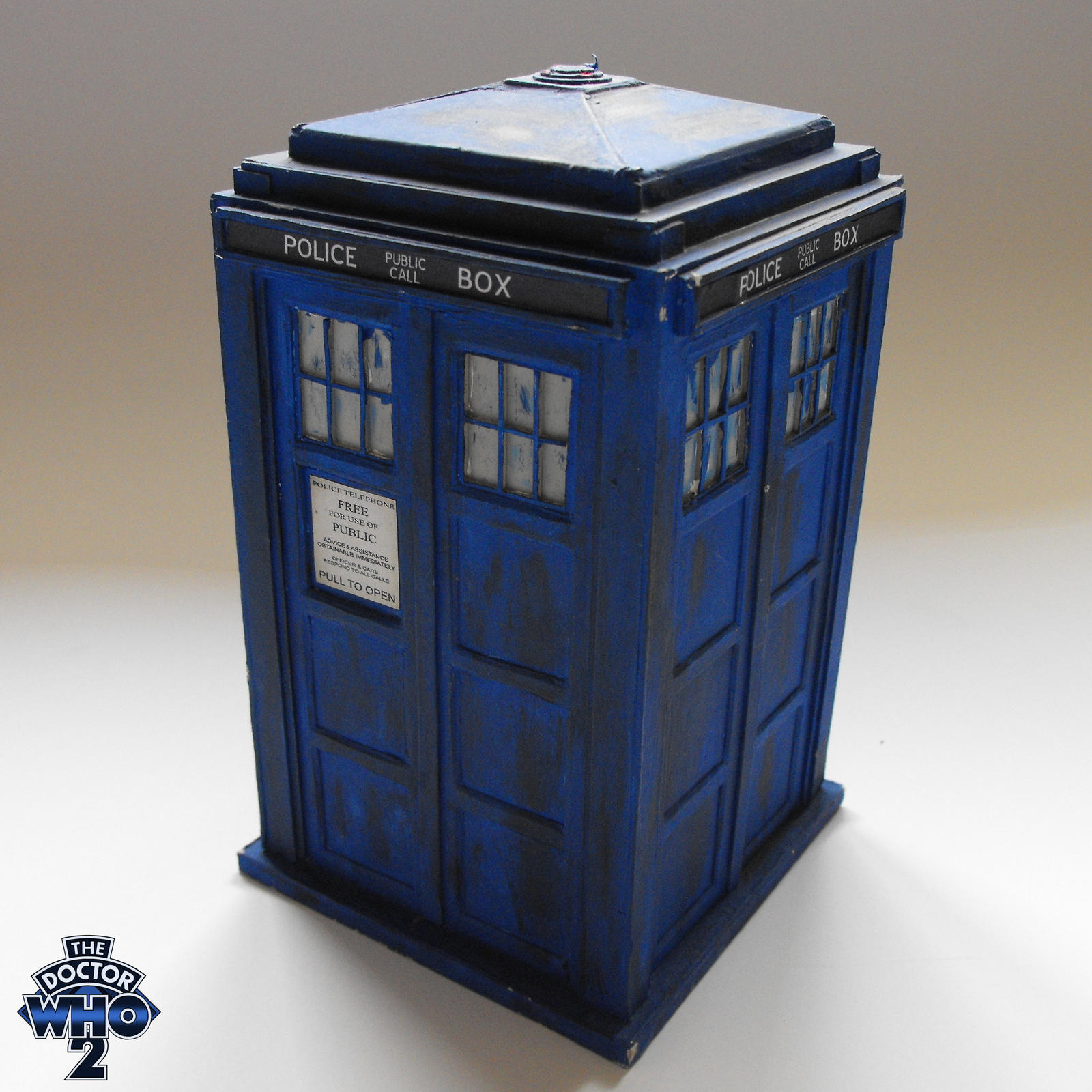 10th Doctor TARDIS Model (2008 Build) by theDoctorWHO2 on DeviantArt
