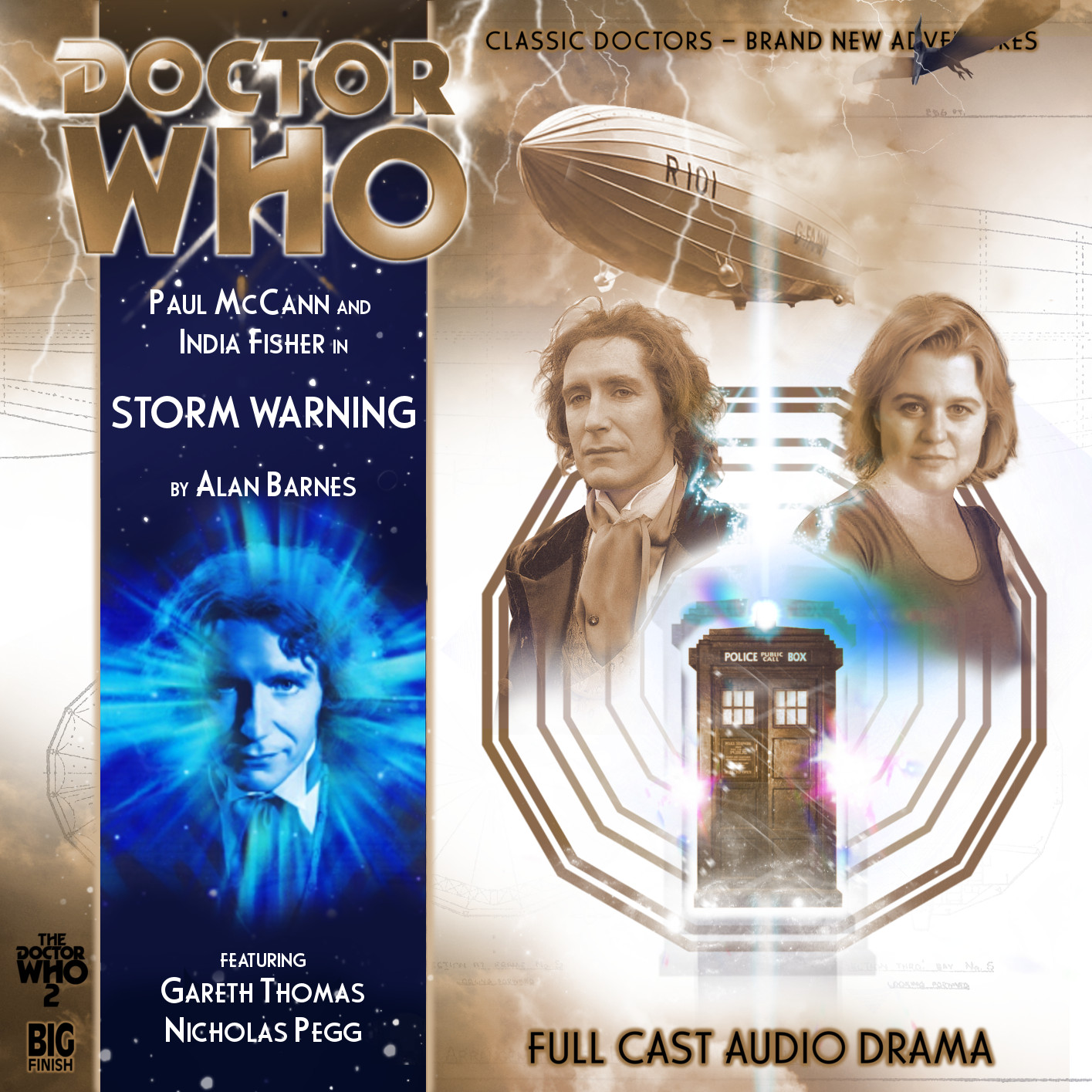 Custom Storm Warning Big Finish CD Cover by theDoctorWHO2