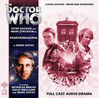 Big Finish 50th Anniv. Phantasmagoria Cover by theDoctorWHO2
