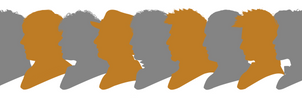 Doctor Who 50th Anniv. Doctor Silhouettes Digital