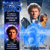Custom Whispers of Terror Big Finish CD Cover by theDoctorWHO2