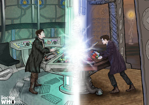8th and 11th Doctor | TARDIS Fracture
