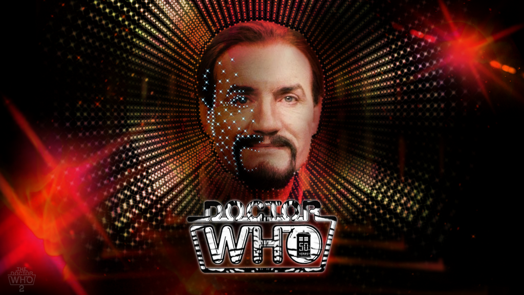 50th Anniv. Anthony Ainley [Master4] Wallpaper by theDoctorWHO2