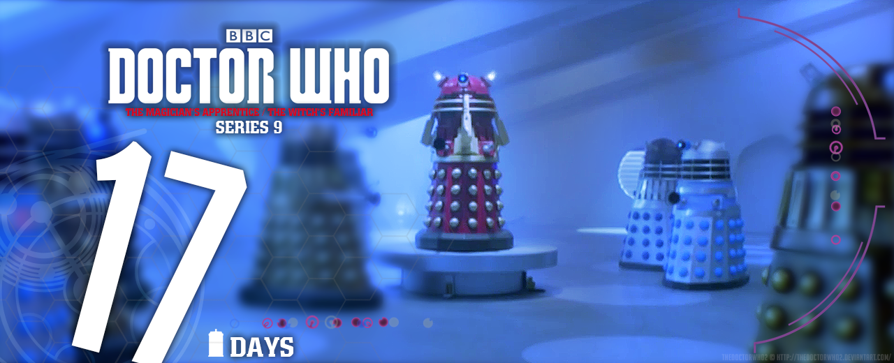 Doctor Who Series 9 - Countdown - 17 DAYS by theDoctorWHO2