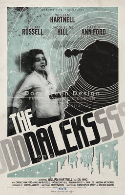 Doctor Who: The Daleks Poster