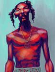 Snoop Sketch by davidmation