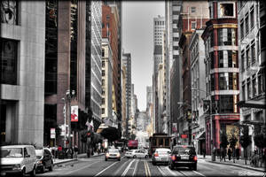 The Streets of San Fransisco by Bartonbo
