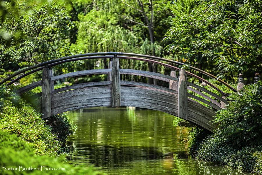 Japanese garden bridge by bartonbo on deviantart for Japanese garden bridge