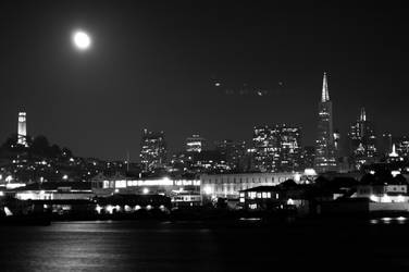 city in black by turtlepalooza