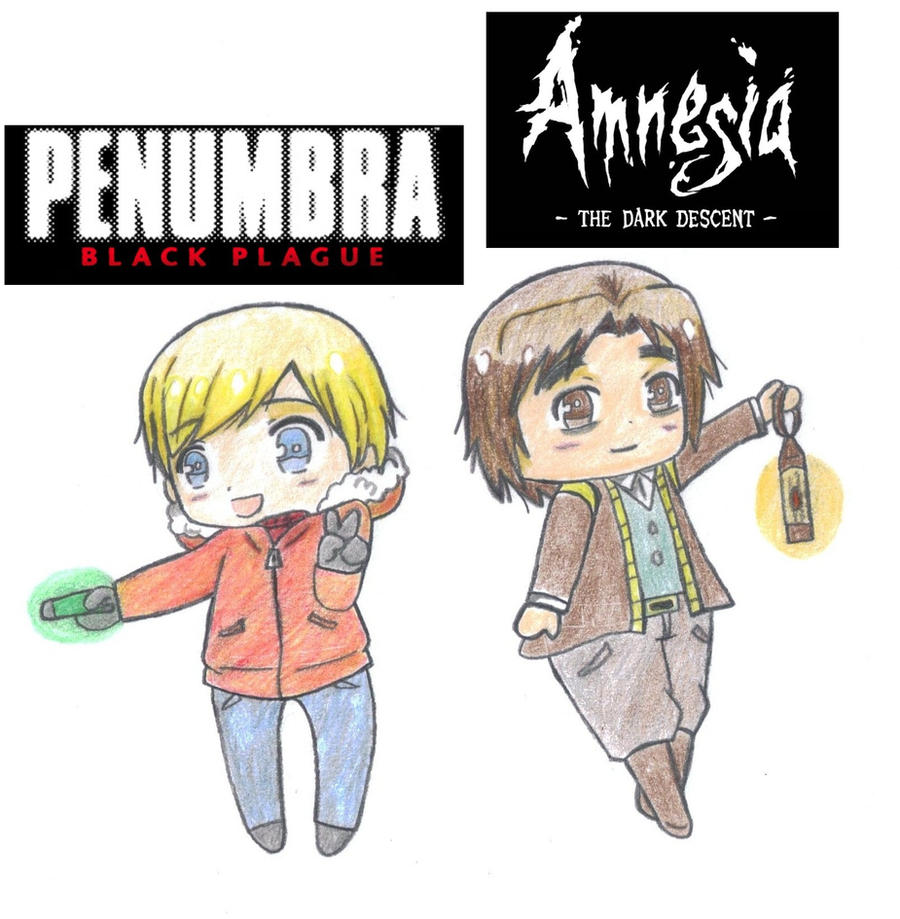 penumbra and amnesia by princesshetalia