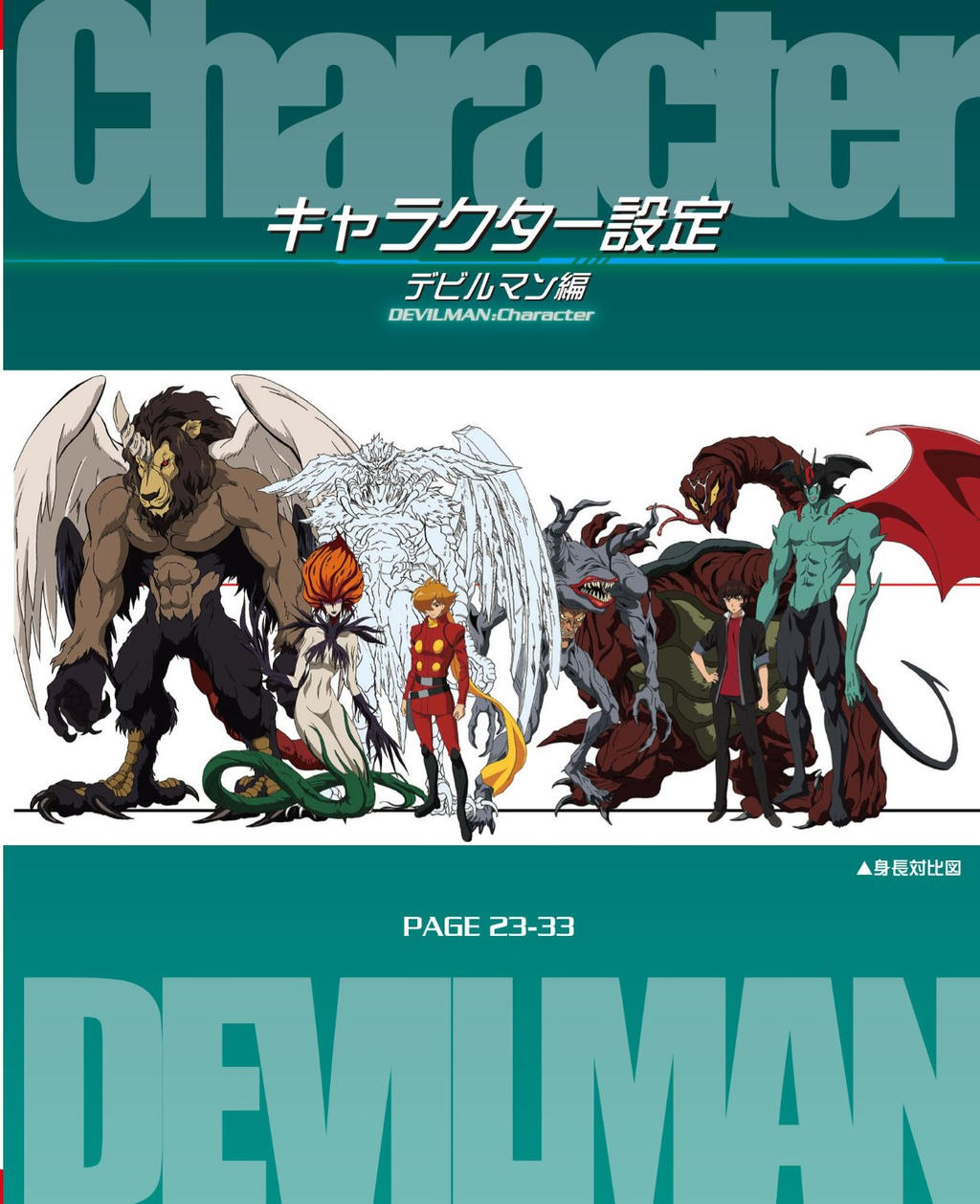 Characters Devilman By
