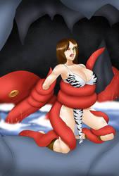 Gaia only wanted a swim! - Usagiforehead by ZorzsLadies
