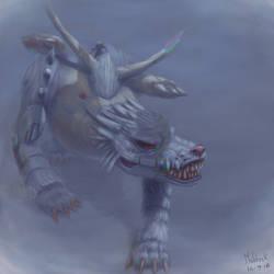 Metalgarurumon - Monstrous Reinterpretation by Maldock