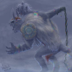 Vikemon - Monstrous Reinterpretation by Maldock