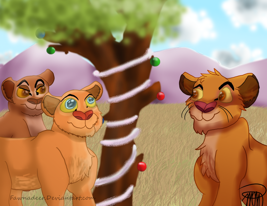 SS: Christmas in Africa by Fawnadeer