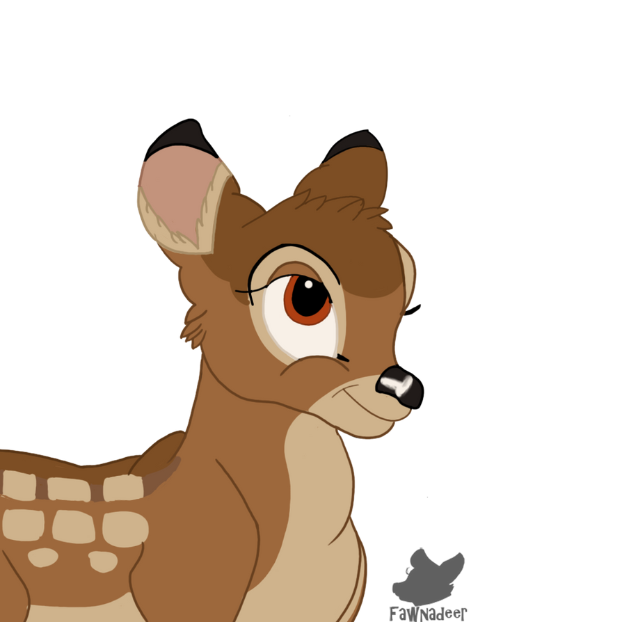 Bambi Doodle by Fawnadeer