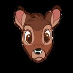 Bambi Sticker by Fawnadeer