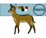 Fawna 2020 Reference Sheet by Fawnadeer
