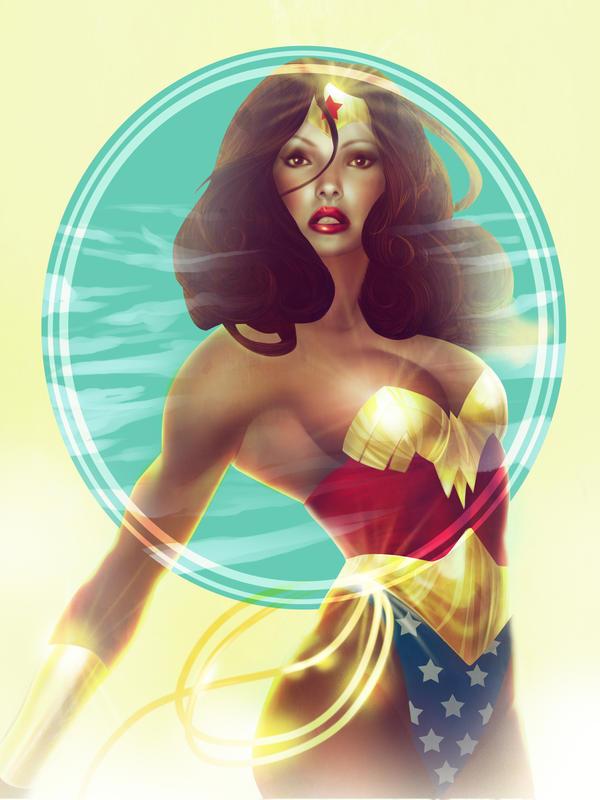 Wonder Woman by SashaGreen