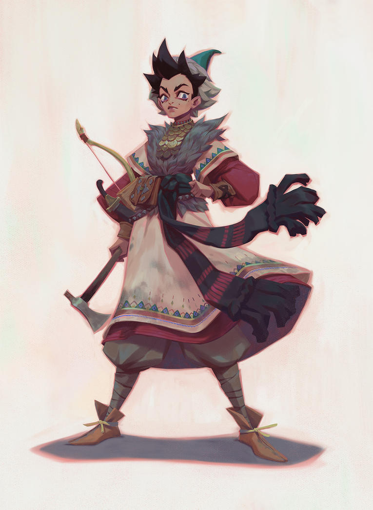Fantasy tomboy by tudvaseva-sasha