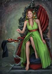 Persephone by Ganusia