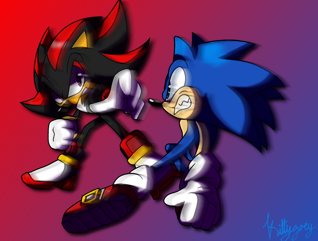 The Fastest Vs. The Ultimate [Collaberation] by solarsonic21