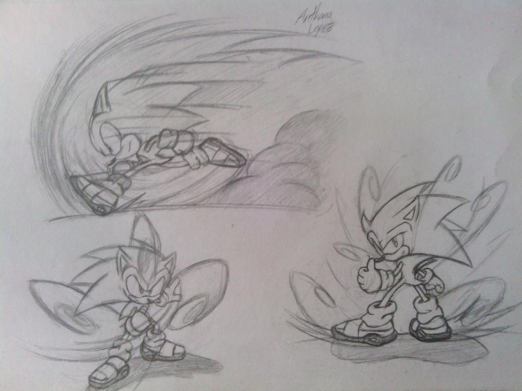 Sonic - Sonic Adventure by solarsonic21