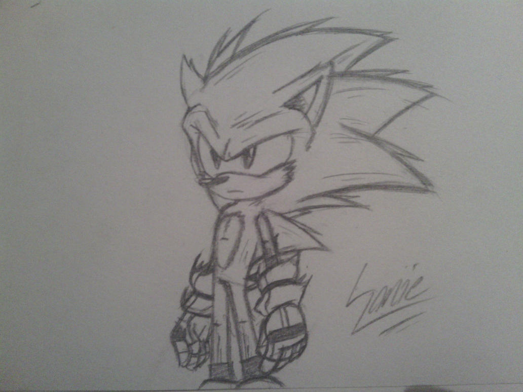 Sonic - Slight Redesign by solarsonic21