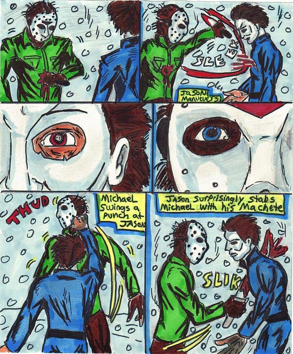Jason Vs Michae... Jason Vs Michael Myers Comic