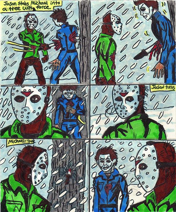 Michael Myers V... Jason Vs Michael Myers Comic
