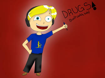 Pewdiepie found his Drugs :D